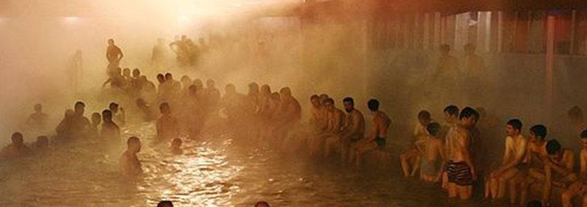 چشمه های آب گرم رامسر
