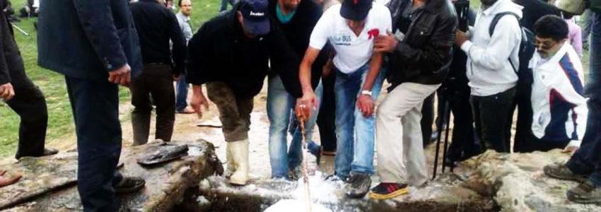 یکی از مراسم قابل توجه در ارتباط با ذخیره آب
